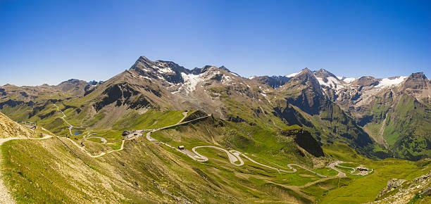 Panoramic view on Grossglockner High Alpine Road – Foto