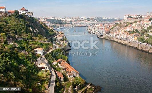 View on Porto and river Douro