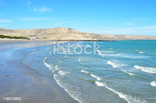 istock Panoramic view on the Valdes Peninsula in Argentina, Patagonia 1165123820