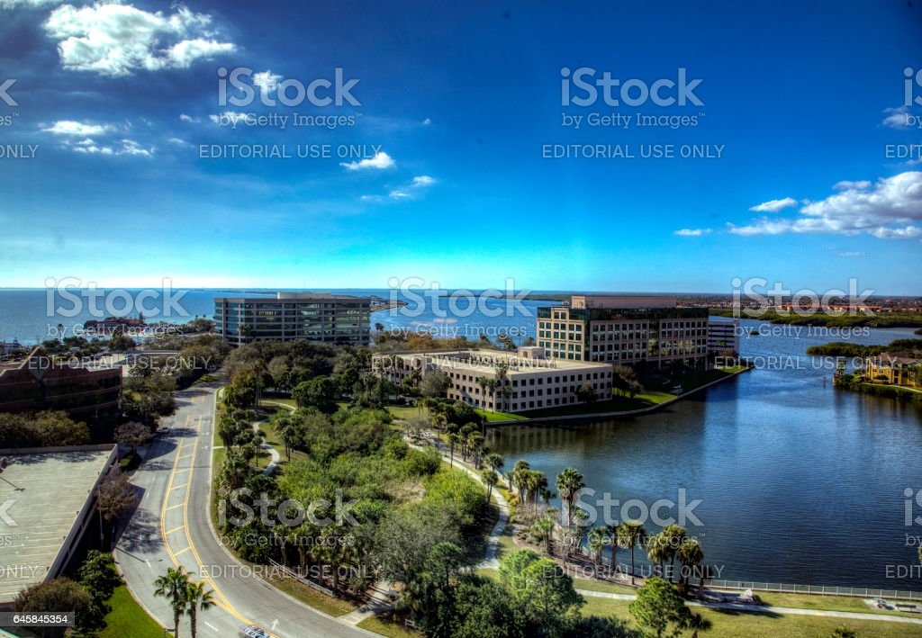 Panoramic view stock photo