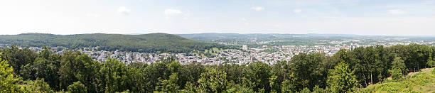 Panoramic Vista of Reading Pennsylvania stock photo