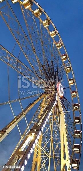 Panoramic wheel in Rimini