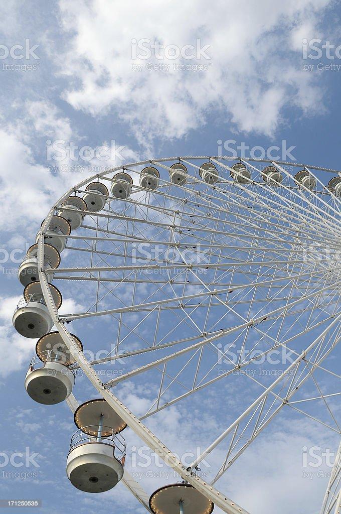 Panoramic wheel royalty-free stock photo