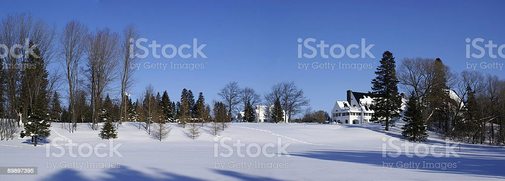 panoramique_hiver royalty-free stock photo