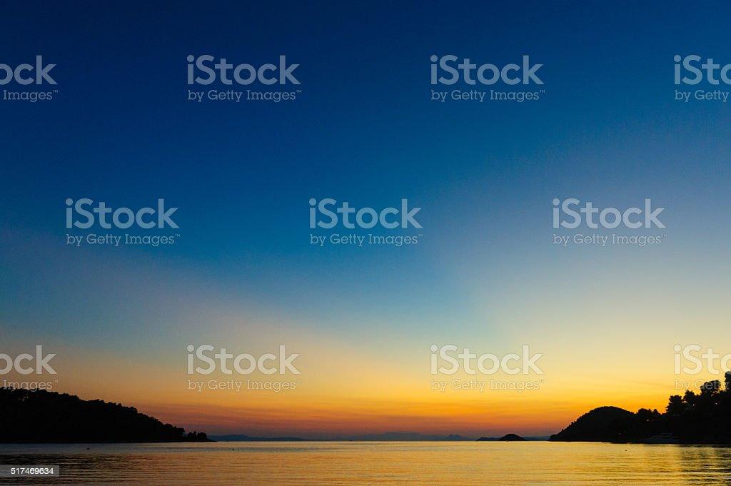 Bahía de Panormos - foto de stock