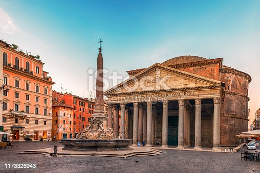 The Roman Pantheon is the most preserved and influential building of ancient Rome. It is a Roman temple dedicated to all the gods of pagan Rome.