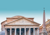 istock Pantheon Exterior View, Rome, Italy 1011924460
