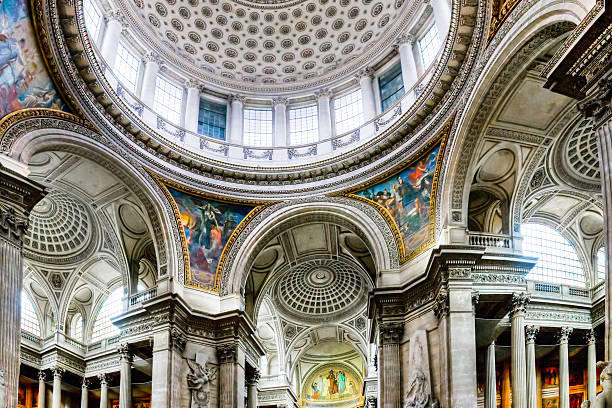 Panteón en París, Francia - foto de stock