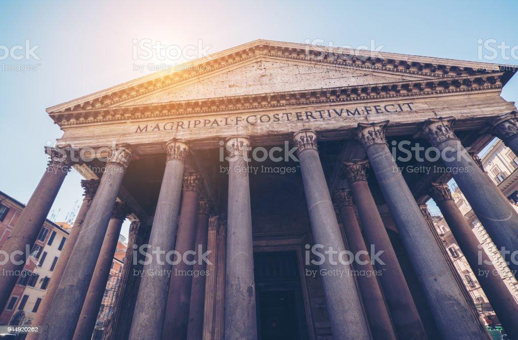 Pantheon in Rom, Italien – Foto