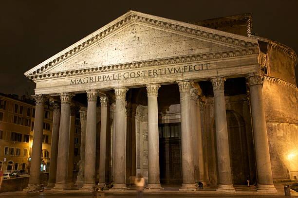 Pantheon in der Nacht, Rom – Foto