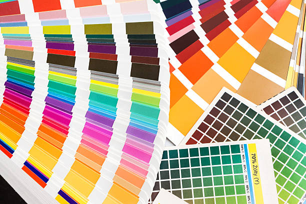 Pantone Cmyk Ral Color Swatches Stock Photo More Pictures Of