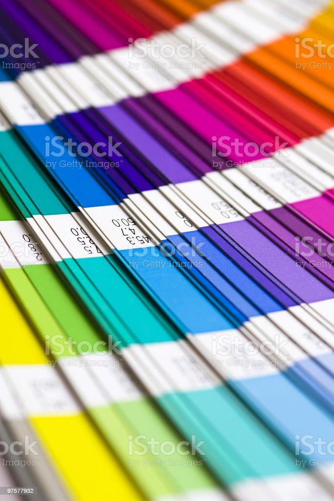 Pantone - Lizenzfrei Abstrakt Stock-Foto