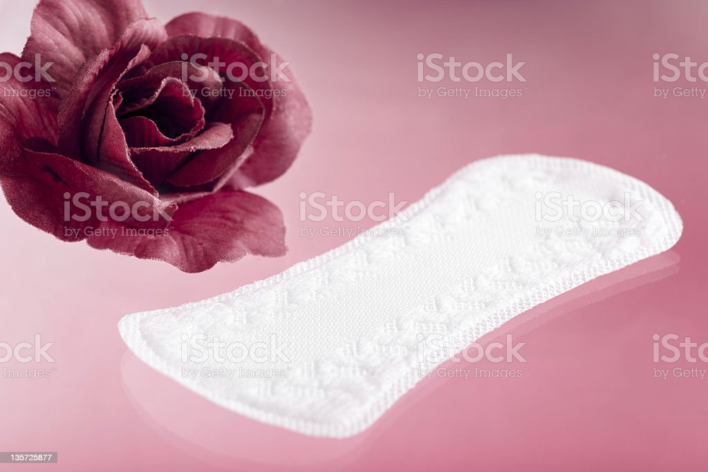 Panty Liner stock photo