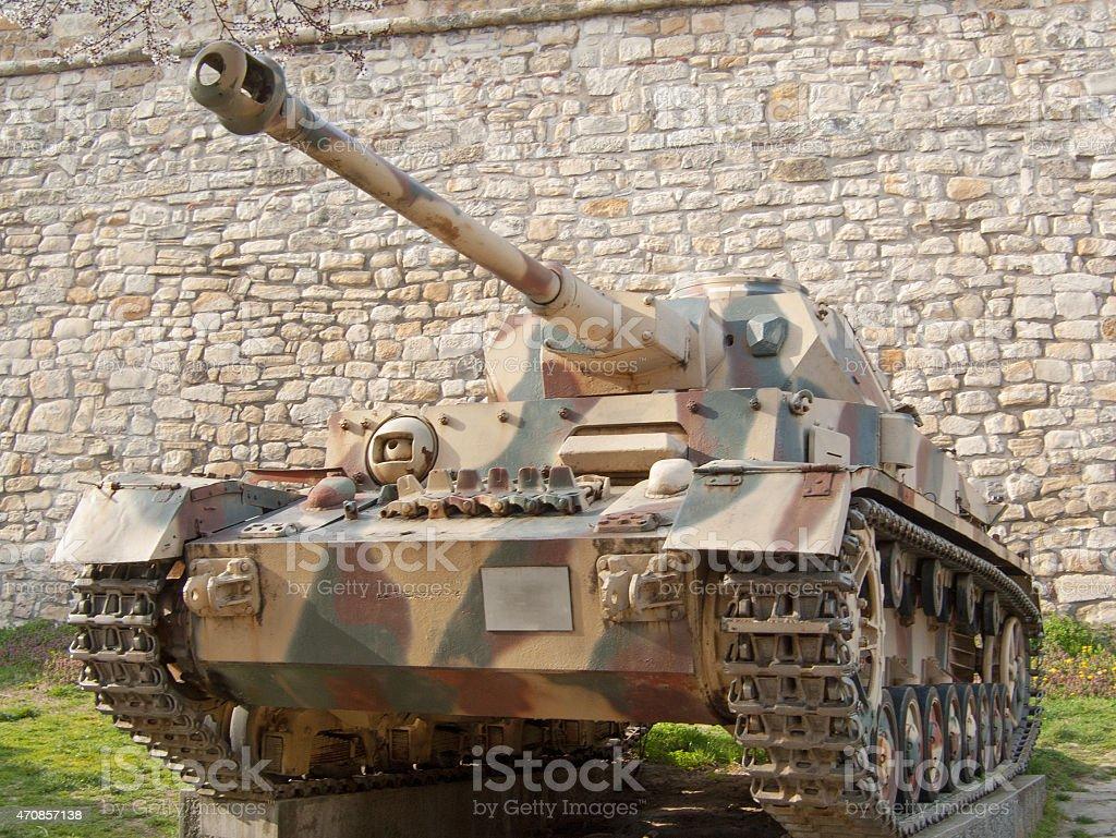 Panzer IV stock photo