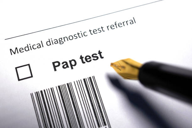 Pap test stock photo