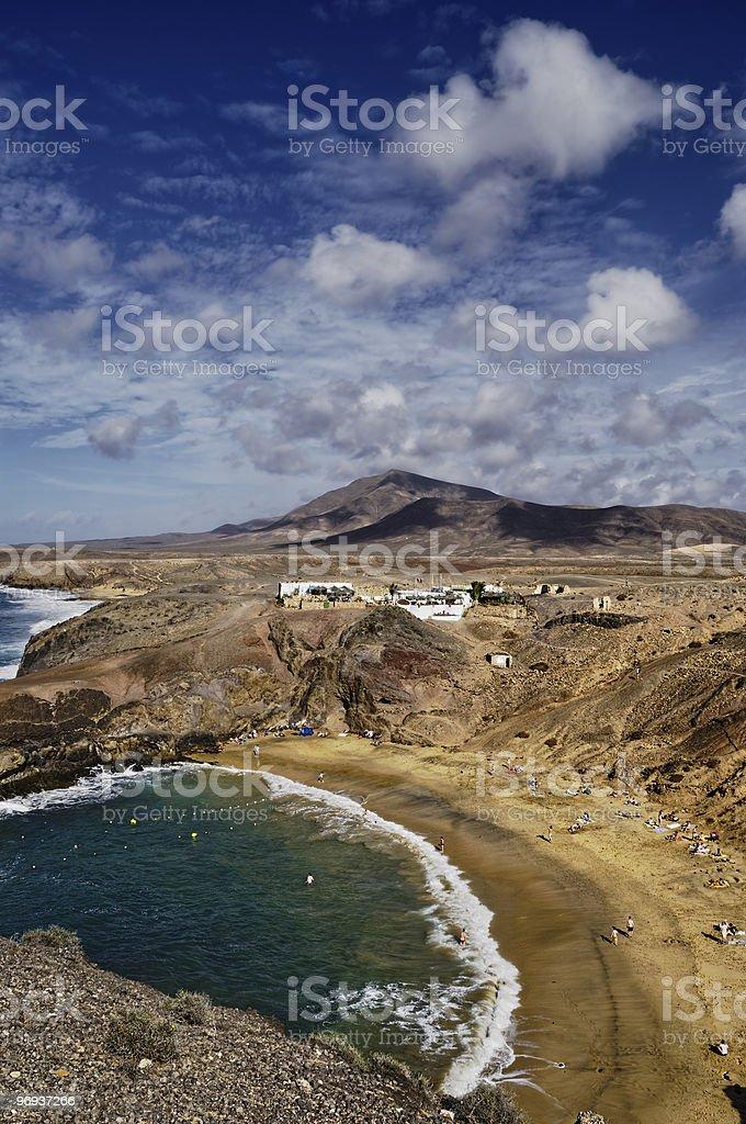 Papagayo Beach royalty-free stock photo