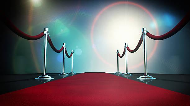 Paparazzi Red Carpet stock photo