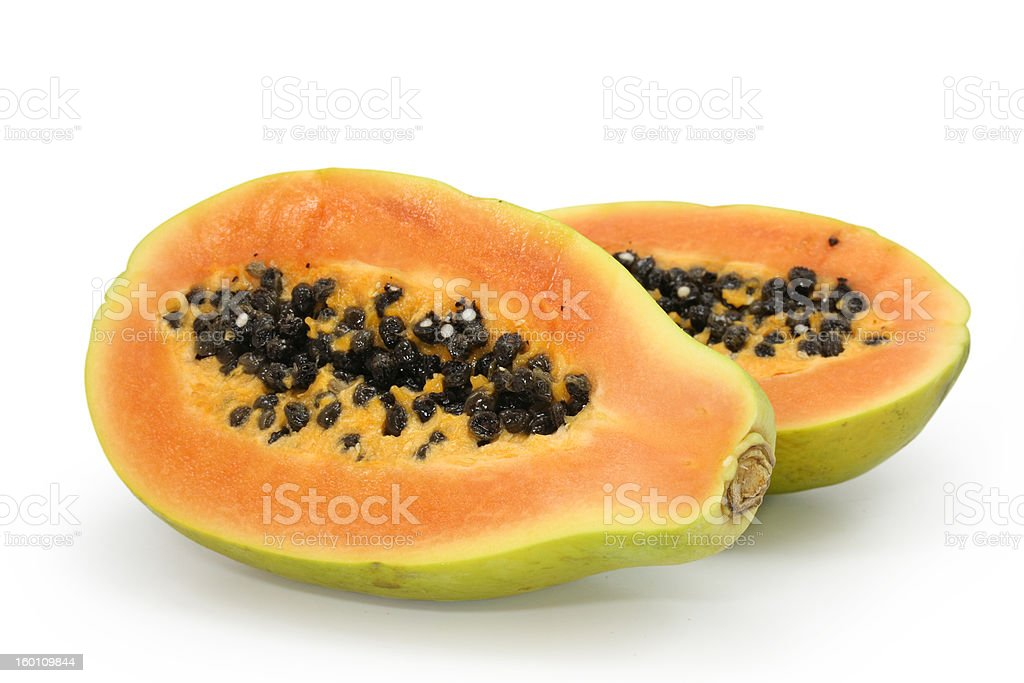 papaya royalty-free stock photo