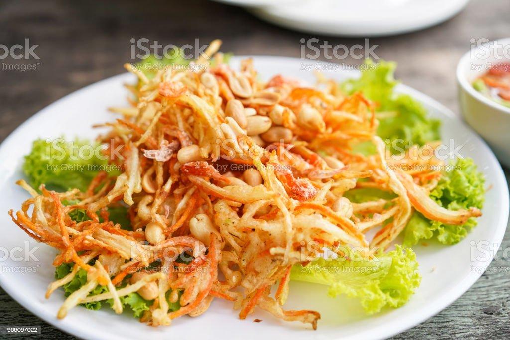 Papaya salad Thailand food. - Royalty-free 2018 Foto de stock