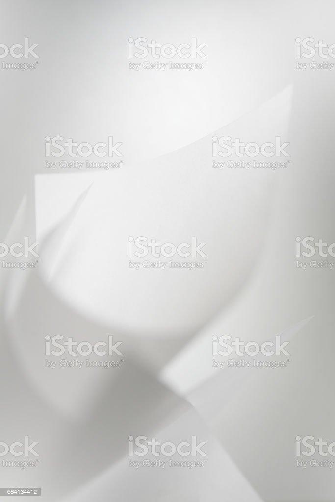 abstracte achtergrond van papier wit royalty free stockfoto
