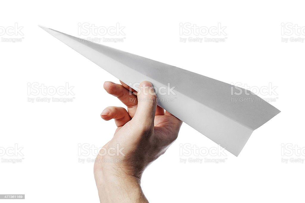 Avion en papier - Photo