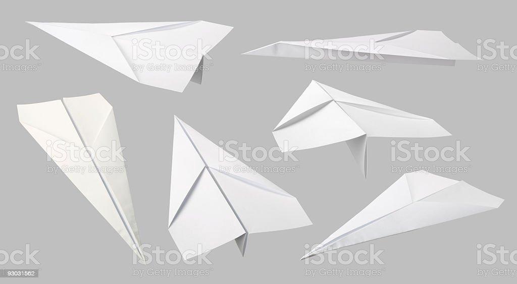 Carta aerei collezione - foto stock
