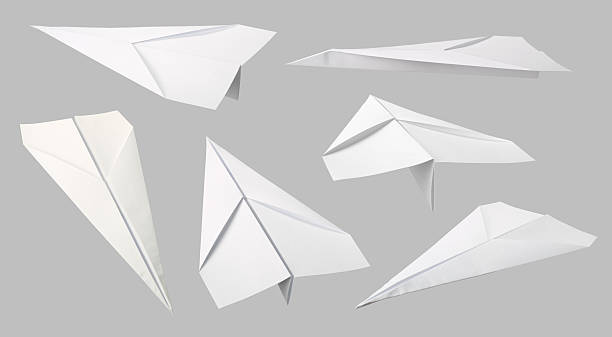 Des avions en papier collection - Photo