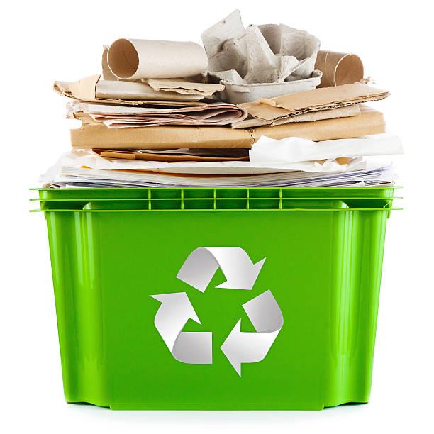 papier und pappe - papier recycling stock-fotos und bilder