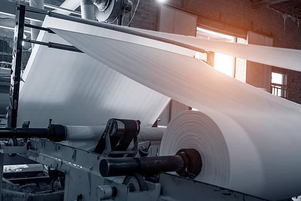 종이 및 펄프 공장 - 제조 공장 뉴스 사진 이미지