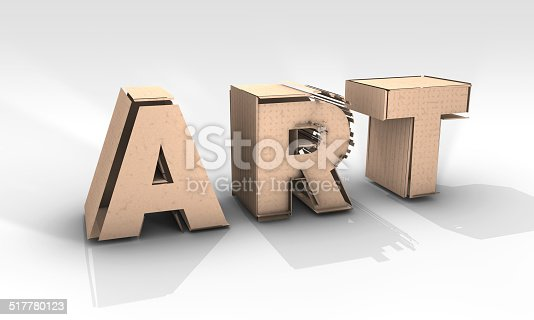 517780131 istock photo Paper Art Sculpture 517780123