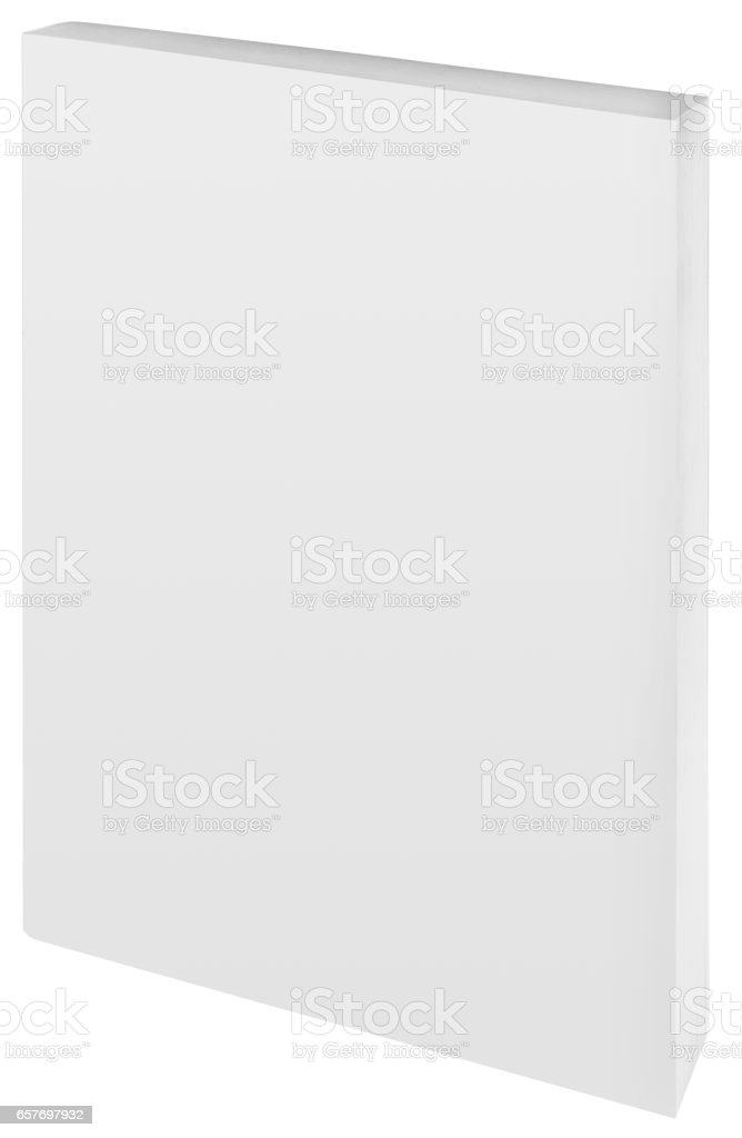 Paper Back Book Cutout stock photo