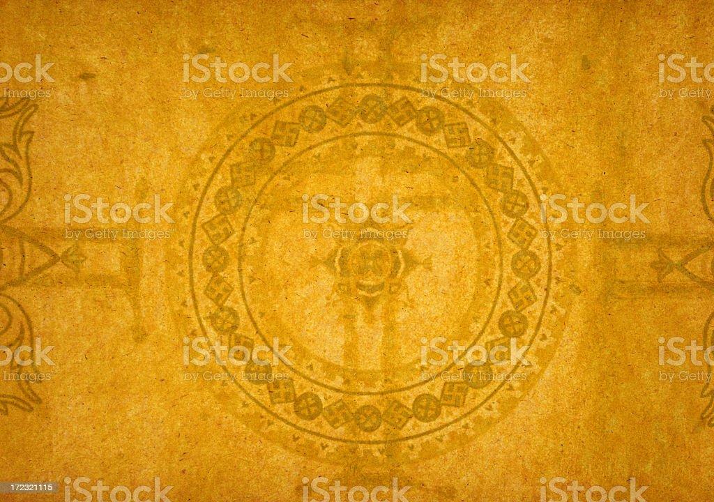 XL Paper Background with Byzantine Design stock photo