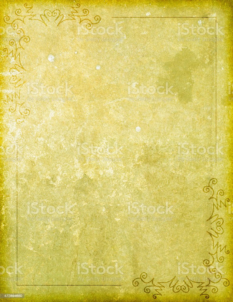 Paper Background with Corner Design Border stock photo