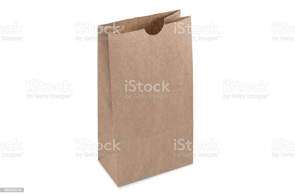 Paper bag for candy royalty-free stock photo