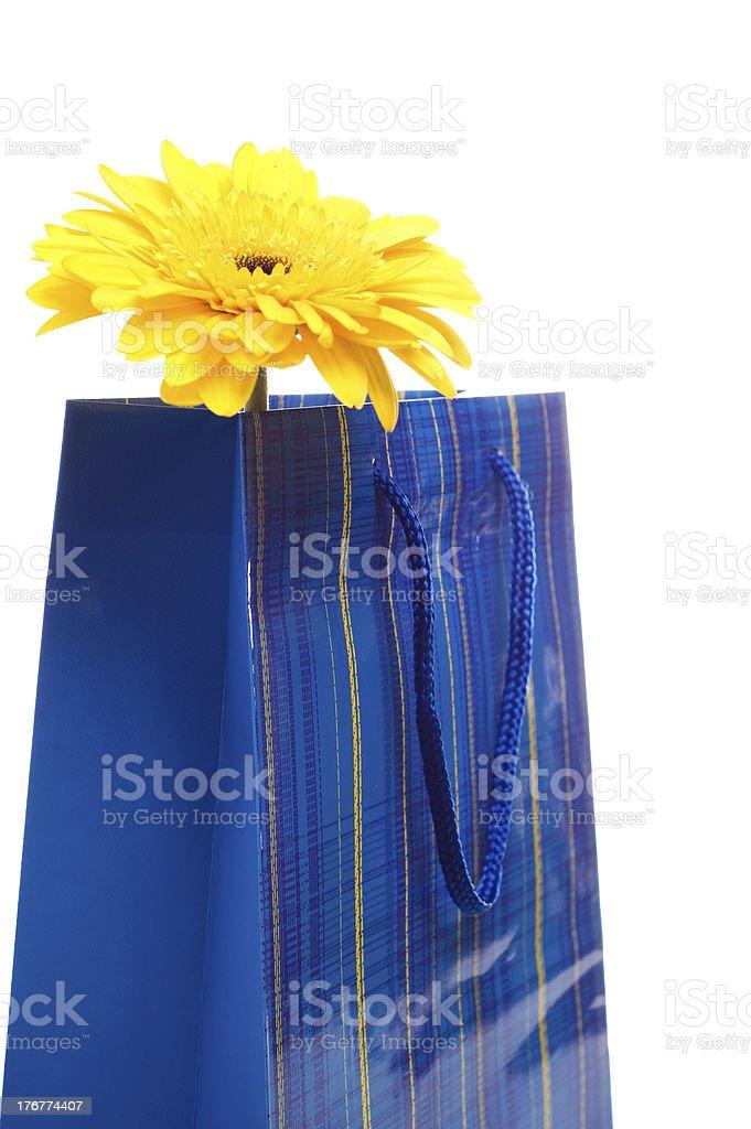 Paper bag royalty-free stock photo