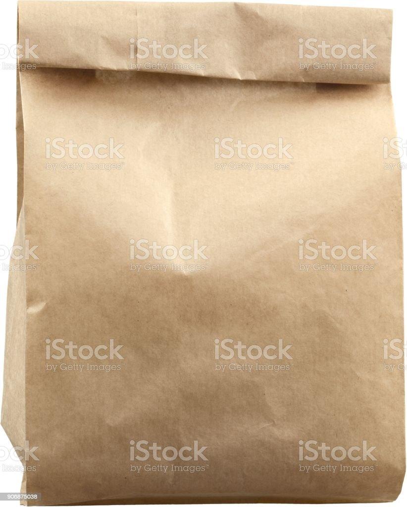 Paper bag. stock photo
