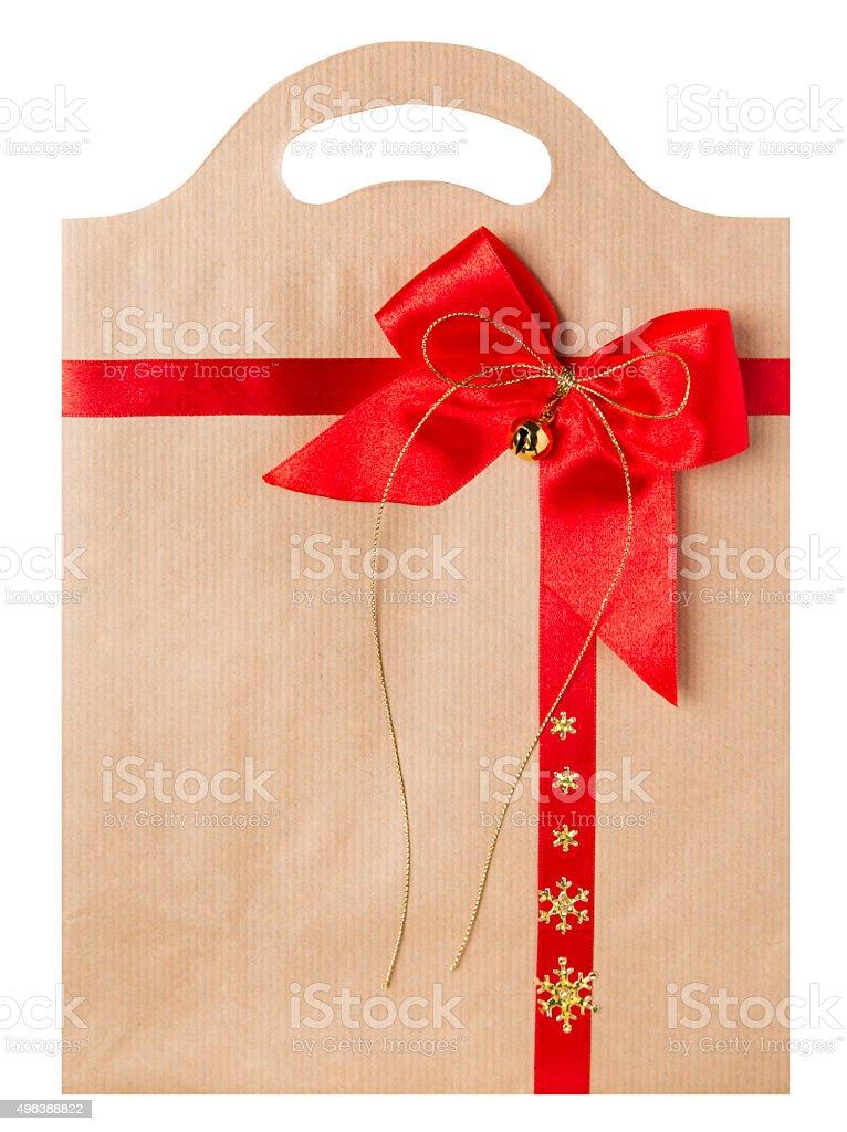 il prezzo rimane stabile a poco prezzo 2020 Busta Di Carta Rosso Fiocco Di Natale Decorato Omaggio Borse ...