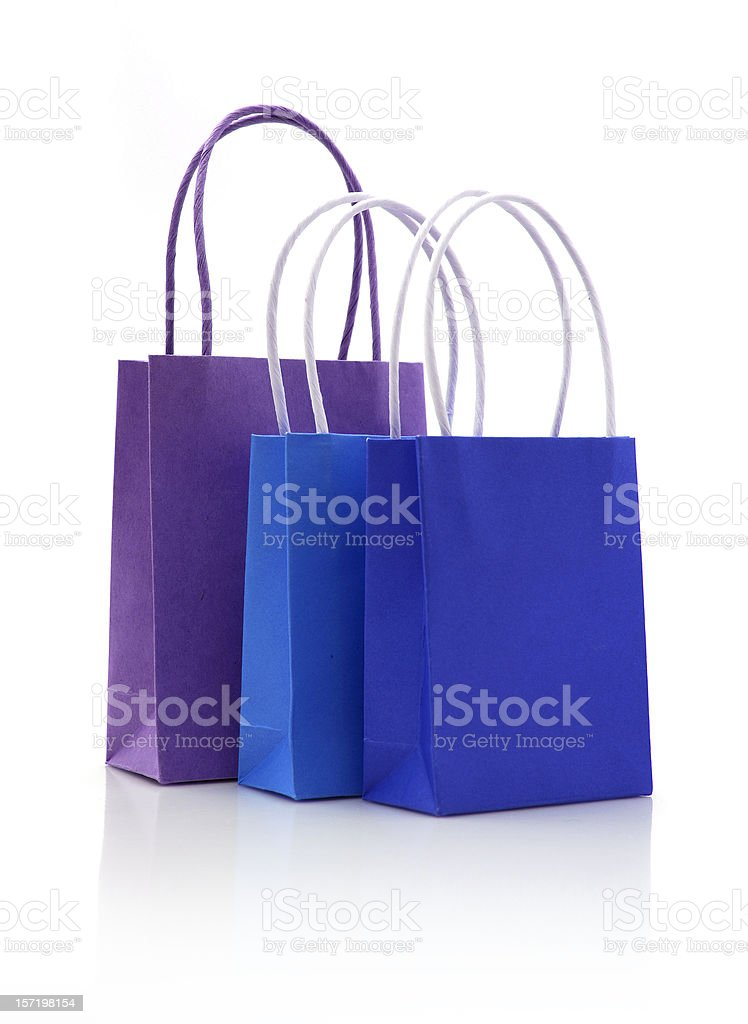 paper bags royalty-free stock photo