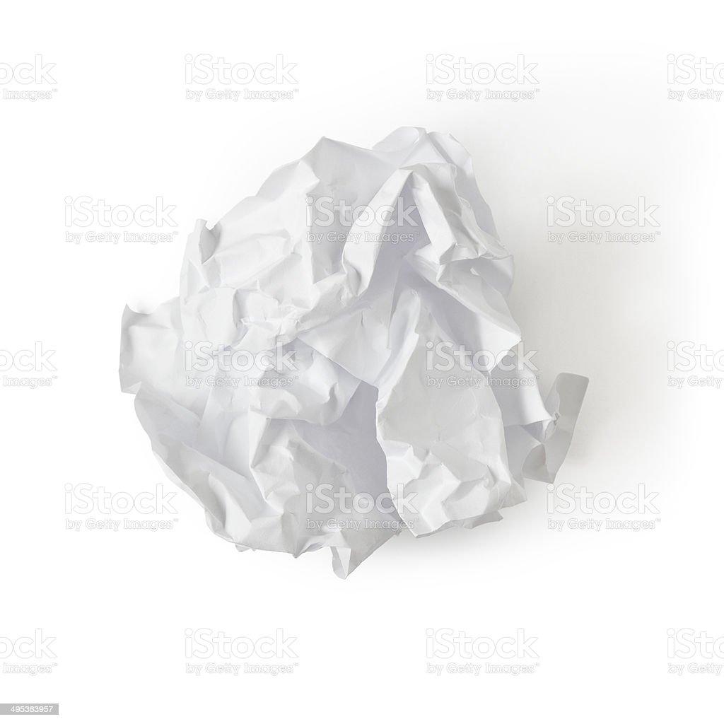 boule de papier - Photo