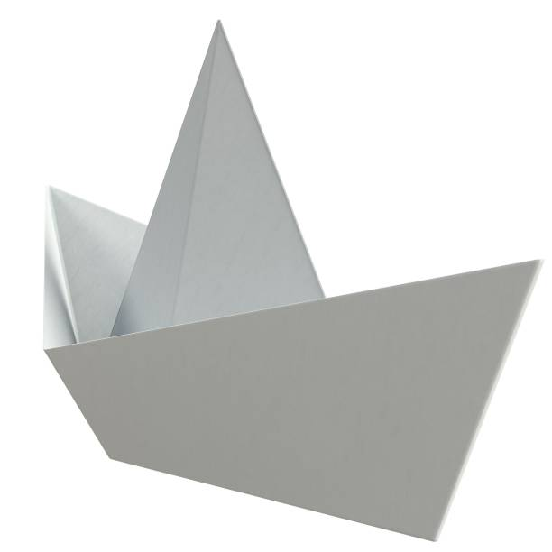 Paper boat - foto stock
