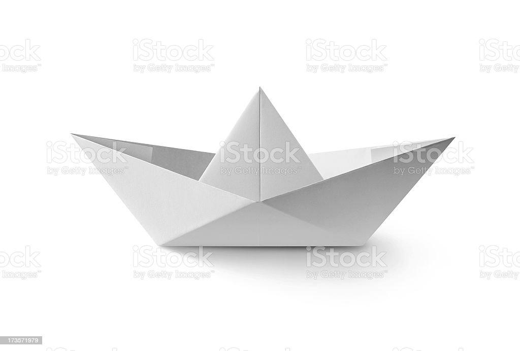 Barco de Papel - foto de acervo