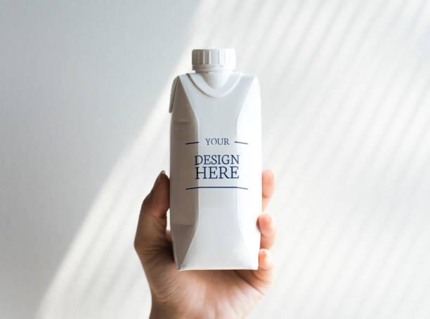 Maquette de bouteille de papier - Photo