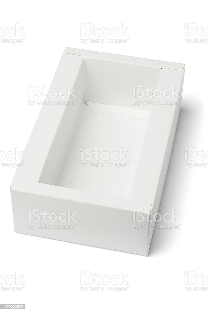 Paper Box royalty-free stock photo