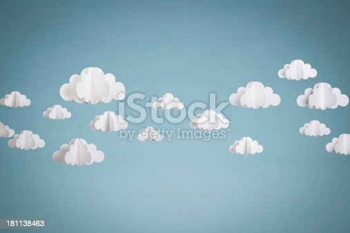 istock Paper Clouds 181138463