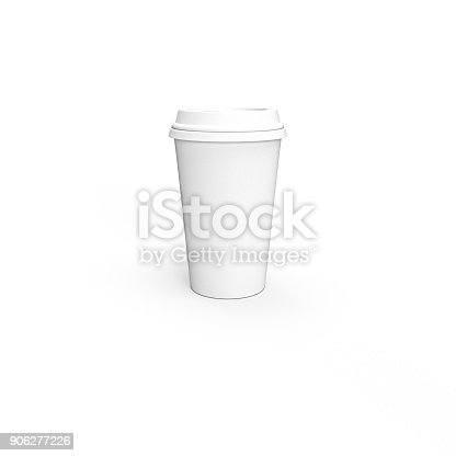 istock Paper Coffee Cup 906277226