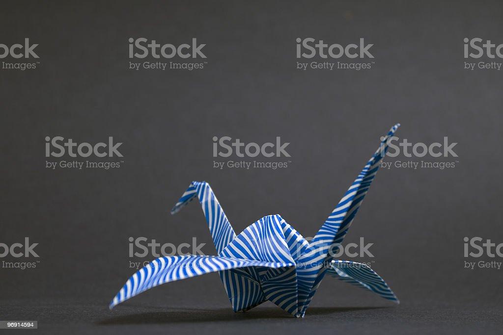Paper Crane royalty-free stock photo