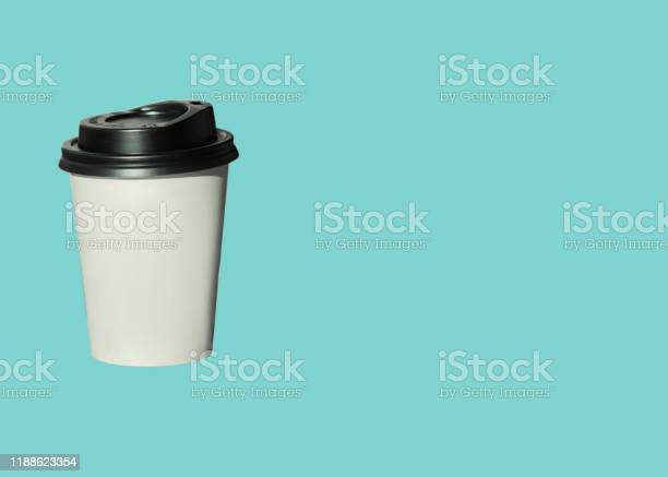 Paper cup with hot coffee to go isolated on a light blue background picture id1188623354?b=1&k=6&m=1188623354&s=612x612&h=vhs yajpcvga4 u3z9sdo6l il7hyyfj4qsnkulo3c8=