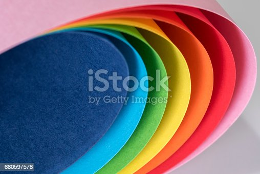 istock Paper curves 660597578