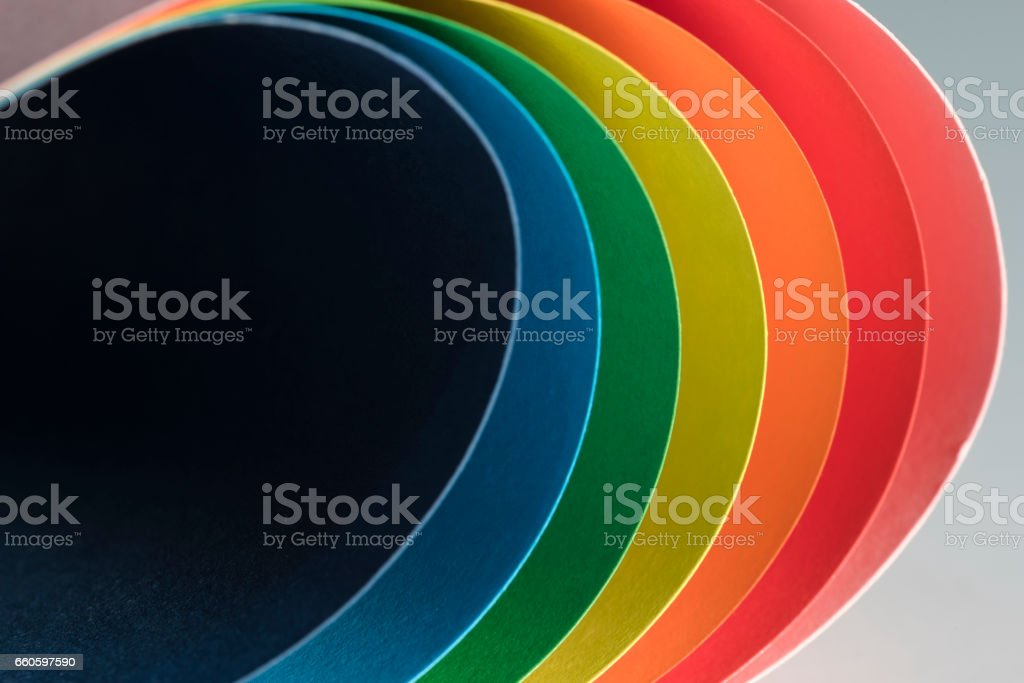 Paper curves royalty-free stock photo