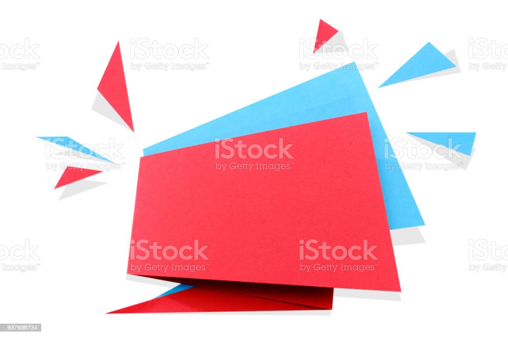 Paper Cut Geometric Sale Banner Special Offer Discount Origami